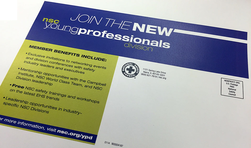 NSC YPD Mailer