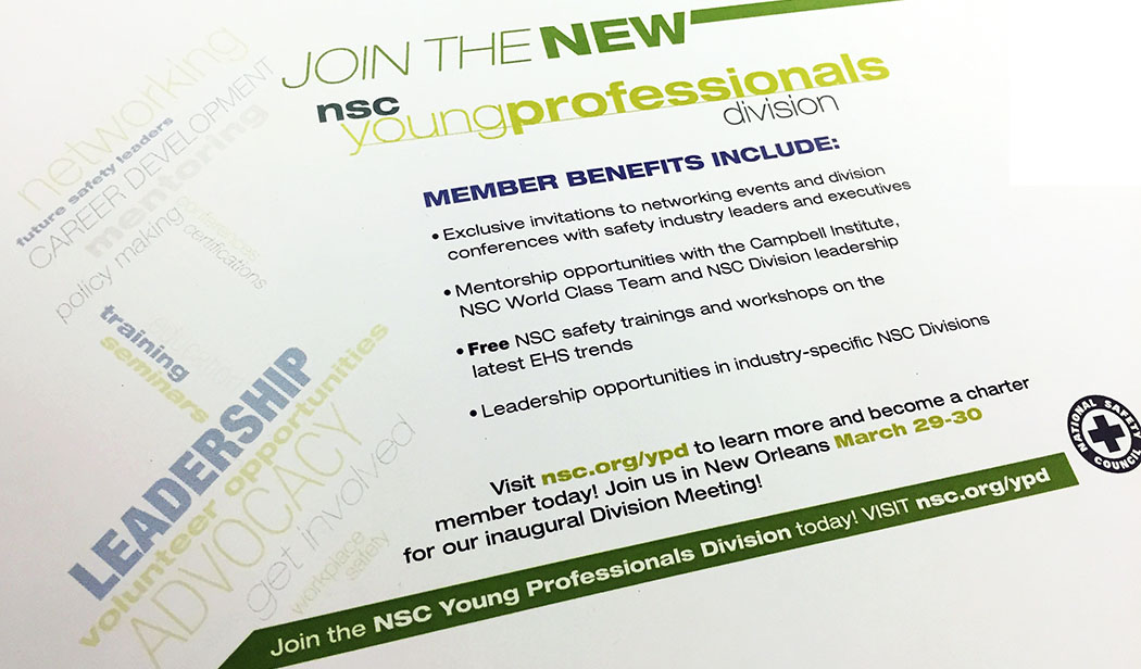 NSC YPD Mailer Front